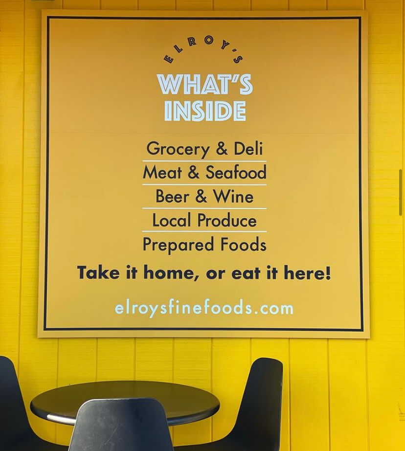 Elroy's sign - What's Inside